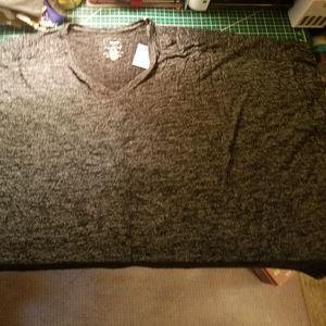 Sonoma Black Tie Soft Touch Poncho 2x-3x